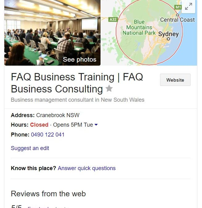 Google My Business Top 13 Tips