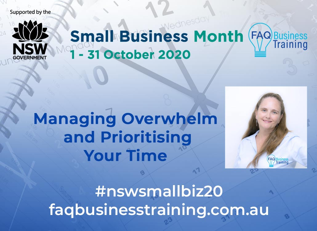 Managing-Overwhelm-NSW-Small-Business-Month-FAQ-Business-Training