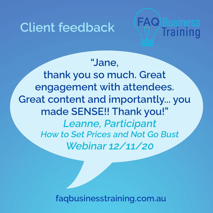 AQ-Business-Training-Client-Feedback-Leanne-Set-Prices-Webinar