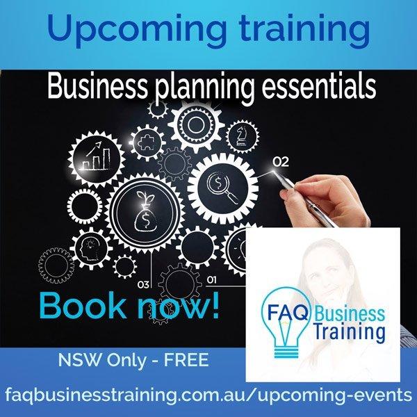 Business planning essentials workshop