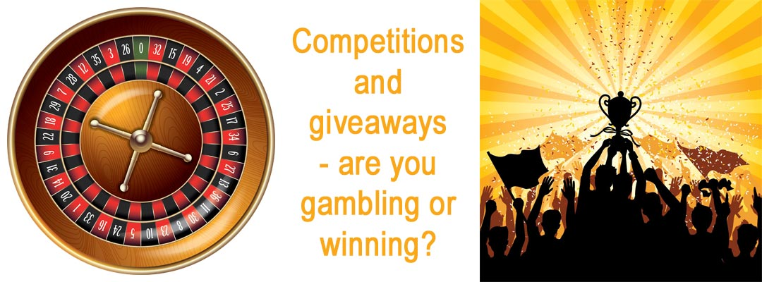 Facebook competition rules – are you gambling or winning?