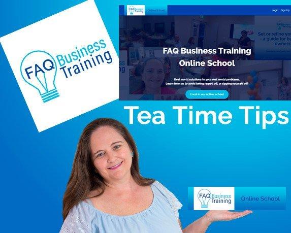 Tea-Time-Tips-FAQ-Business-Training-Online-School
