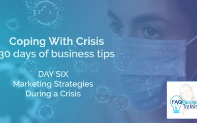 Coping With Crisis Day 06 – Marketing Strategies