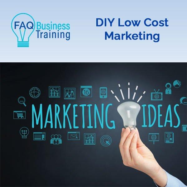 DIY Low Cost Marketing Ideas