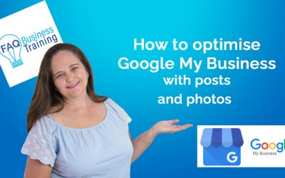 How to optimise Google My Business using posts and photos