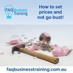 How to set prices and not go bust